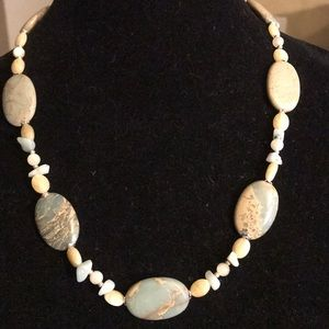 Jewelry - 🛍🎉Gorgeous aqua terra jasper necklace